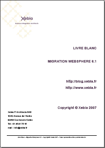 Livre Blanc Migration Websphere 6.1