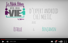 Vis ma Vie - Directrice commerciale et Android