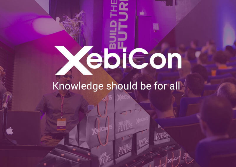 XebiCon, Knowledge should be for all