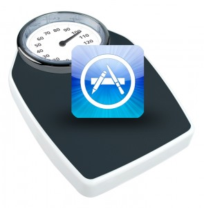 optimiser poids applications IOS